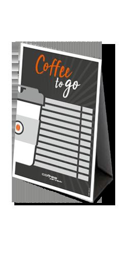 coffee perfect drikkeudvalg - Coffee to go