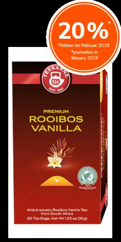Rooibos Vanilla Premium Selection