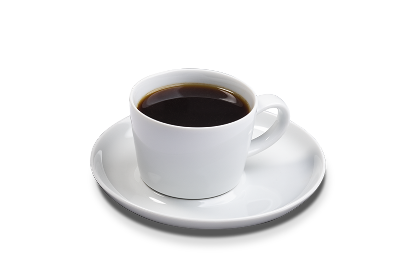 Drikke sort kaffe