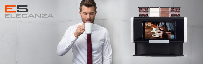 Fuldautomatiske kaffemaskine E5
