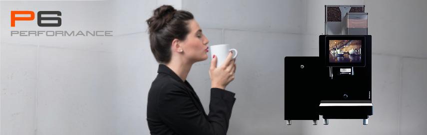 Fuldautomatiske kaffemaskine P6
