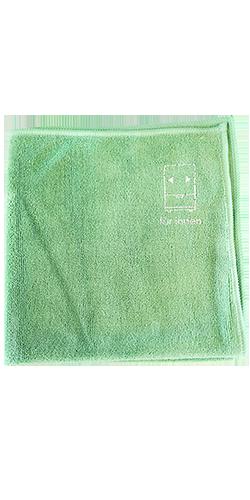 Mikrofiberklud grøn